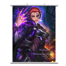 Game Overwatch Moira Odeleine Wall Scroll Poster free shipping(23.6'' * 31.5'')