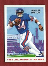 WALTER PAYTON 1988 Chicagoan of the Year Commemorative Chicago Bears HOF