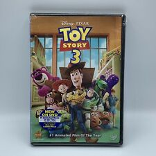 Toy Story 3 Disney Pixar DVD 2010 Brand New Sealed With Bonus Features