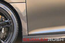 2007-2014 Audi R8 Carbon Fiber Fender Lets / Audi R8 Carbon Fiber Fenders replc.