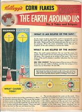 #T78.  1957 - 58  KELLOGG'S CORN FLAKES THE WORLD AROUND US  BACK PANEL #5