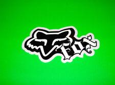 FOX  RACING MOTOCROSS SKATEBOARD WAKEBOARD SNOWBOARD BLACK SWITCH STICKER DECAL