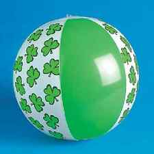 Inflatable St. Patrick's Day Beach Ball Party Favor