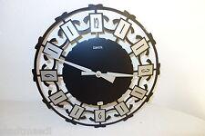 HETTICH Horloge murale, métal, Fabriqué en Allemagne, rétro