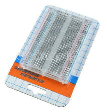Mini Solderless Breadboard Transparent Material 400 Points Available DIY