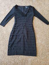 women's black dress size 2, Holiday fancy dress, black evening wear