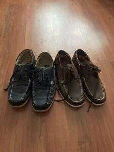 2 Pair Mens Shoes Size 9