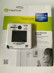Capstone Security Technologies - Door Security Monitor with Peephole Cover