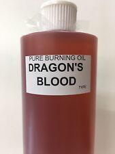 16 OZ Dragon's Blood BURNING OIL,Life is Beautiful W/ Burning Oil