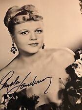 Angela Lansbury Young Autograph SIGNED 8x10 PHOTO PSA PSA/DNA COA
