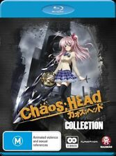 Chaos Head - Collection (Blu-ray, 2012, 2-Disc Set) HARD TO FIND & CLOSE TO NEW