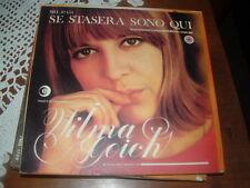 """WILMA GOICH """" SE STASERA SONO QUI ( Tenco ) """" UN DISCO PER L'ESTATE'67 ITALY'67"""