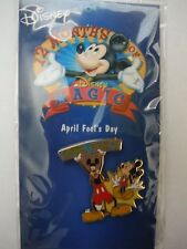 DISNEY MAGIC 12 MONTHS OF MAGIC PINS APRIL FOOL'S DAY 2002 GOOFY AND MICKEY PIN