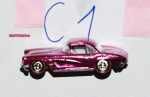 HOT WHEELS CLASSICS SERIES 5 '62 CORVETTE CHASE LOOSE W+