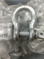 "Anchor Shackle - Size: 1/2"" ) WLL - USA Lot Of 2  PCS  2T"