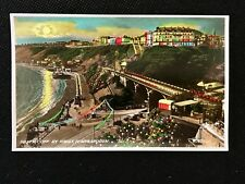 RP Postcard Unposted Scarborough South Cliff by Night H9784 - RF1 PCBOX1