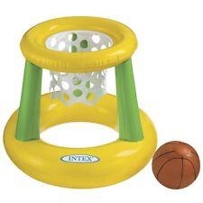 INFLATABLE FLOATING BASKETBALL HOOP GAME - INTEX
