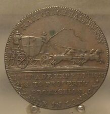 1790s Great Britain Middlesex Mail Coach 1/2 Penny Conder Token