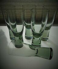 6 super 1950s Per Lutken design Holmegaard Canada Sherry Glasses