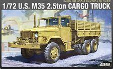 Academy Plastic Model Kit 1/72 U.S. M35 2.5ton Cargo Truck C 13410 NIB