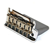 Genuine Fender USA American Std Strat CHROME 2 Pivot Block Bridge, 0075091000