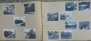 WW2 PHOTO ALBUM IRRIGATION WORKS DAR-ES-SALAAM EAST AFRICA RAF AERIAL VIEWS ETC