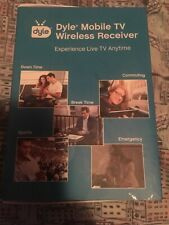 Dyle Mobile TV Wireless Receiver, Live-TV ON-THE-GO New Other AS IS NO ANTENNA