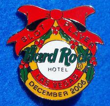 New listing Las Vegas Hotel Prototype Slot Player Series Xmas Bell Hard Rock Cafe 2006 Pin