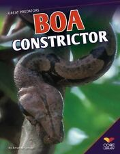 Boa Constrictor (Great Predators)-ExLibrary