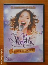 DVD VIOLETTA - LA EMOCION DEL CONCIERTO - EL CONCIERTO DE MILAN - DISNEY (Q5)