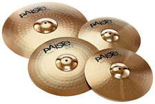 PAISTE SET 201 SET COMPLETO PIATTI PER BATTERIA HIT-HAT ,RIDE,CRASH,NUOVI