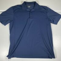 Greg Norman Golf Polo Shirt Blue Short Sleeve Size Adult XXL 2XL Mens Play Dry