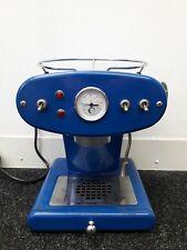 Francis X1 Blue Espresso Machine Maker Used In Box Design By Luca Trazzi