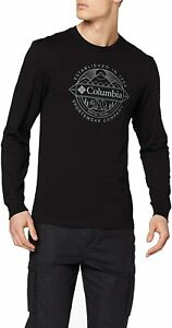 Columbia Men's Cades Cove Longsleeve Graphic Tee.VARIOUS SIZES.
