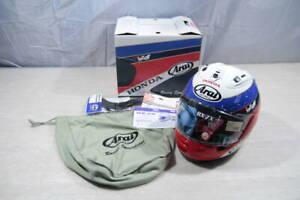 Arai × HONDA RX-7X RC30 30th Anniversary Helmet Serial NO.115 VFR750R 59-60
