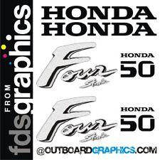 Honda 50hp 4 tiempos motor fuera de borda calcomanías/Kit de la etiqueta engomada