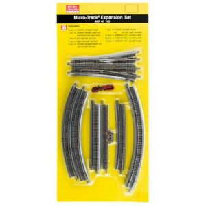 Micro-Trains MTL Z-Scale Micro-Track - Expansion Pack (Straight/Curve/Switches)