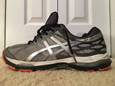 ASICS GEL CUMULUS 17, T5D3N, Men's Running Shoes, Silver / Gray, Size 12