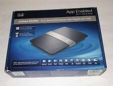 Cisco Linksys Ea4500 *Wireless N Gigabit 450 Mbps USB Dual Band N900*USED