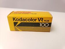 Kodak Kodacolor VR Film 100 CP 120 - New Old Stock - Expired 1986
