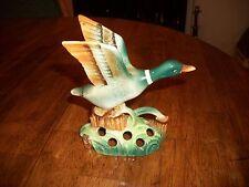 "Vintage Mallard Duck Figurine - 5"" Tall"