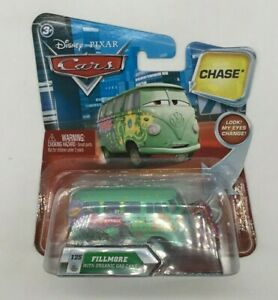 Disney Cars Fillmore w/ Organic Gas Cans CHASE Look My Eyes Change #125 CARS14