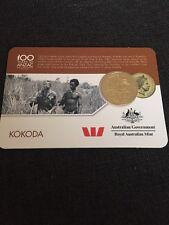 2016 Kokoda Anzac Coin - Anzac To Afghanistan 25 cents