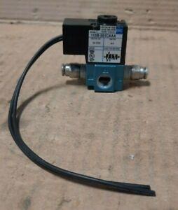 MAC  #113B-501CAAA  SOLENOID VALVE (24 VDC, 6.0 WATTS)  F127