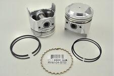 Toyota Corolla 2TC 1600cc 78-79 8.5-1 Compression Standard 4-Pistons Set w/Rings