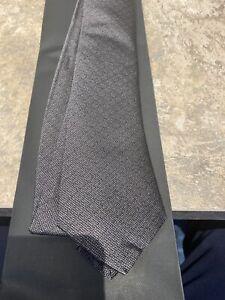 Dior Homme Dark Grey Tie Rare Hans Made