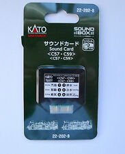 Kato N Scale 22-202-8 Unitrack Sound Card C57/ C59