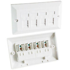 Ethernet Cat 5e Plugs, Jacks and Wall Plates