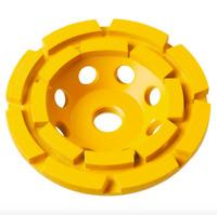 DEWALT 7 in Double Row Diamond Cup Cut Off Grinding Wheel Masonry Concrete Tool