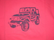WOMEN'S LIFE IS GOOD S/S OFF ROAD JEEP  T--SHIRT SIZE L